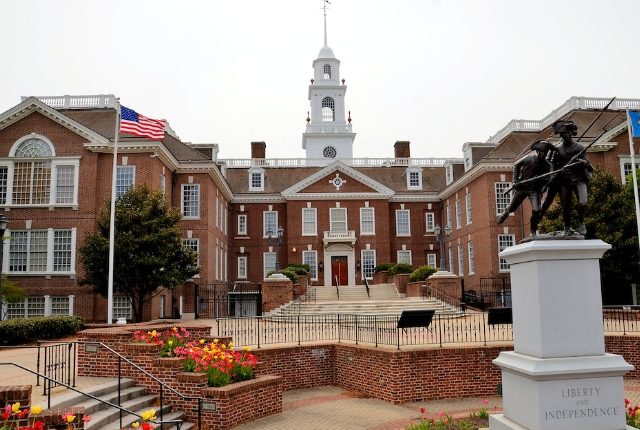 Enjoy The Glory Of Legislative Hall In Dover
