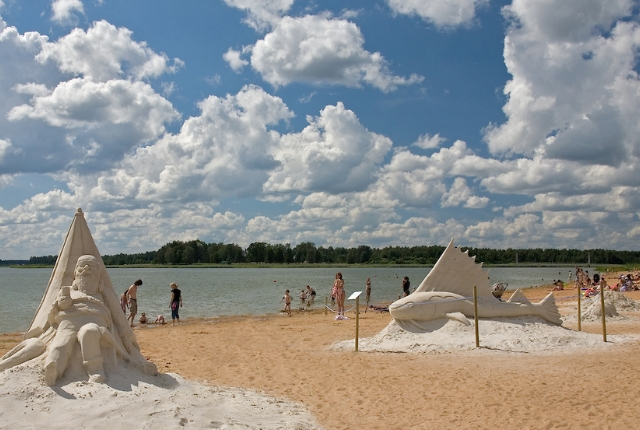 Lake Tamula Beach, Estonia