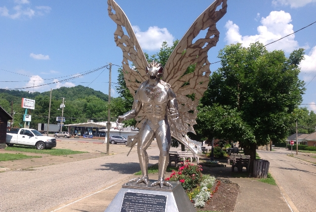 Behold The Mothman Statue Of Point Pleasant