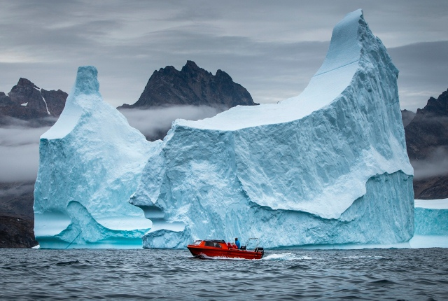 Discover Ice Cap And Iceberg