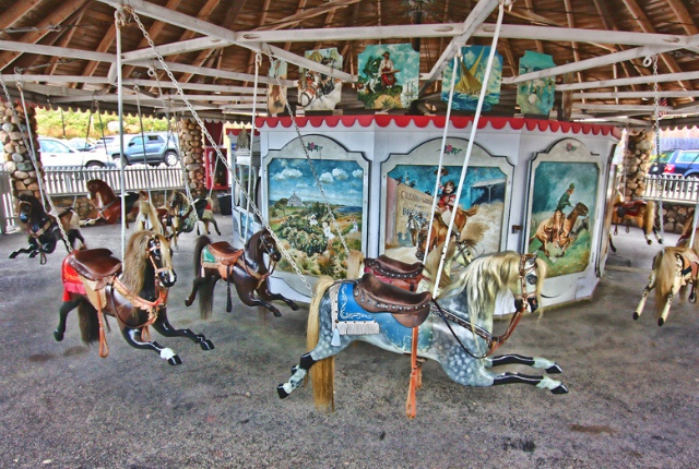 Experience The History Of Oldest Carousel In Watch Hill