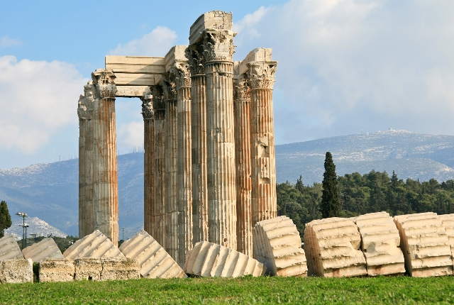 Olympeion Temple of Olympian Zeus
