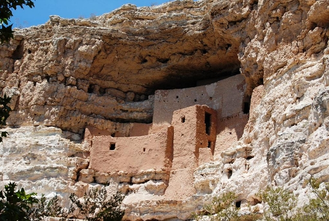 Behold the Montezuma Castle