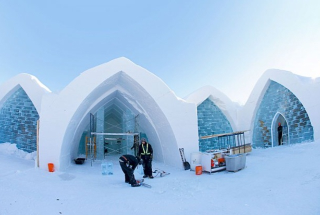 6 spectacular ice hotels around the world. Black Bedroom Furniture Sets. Home Design Ideas