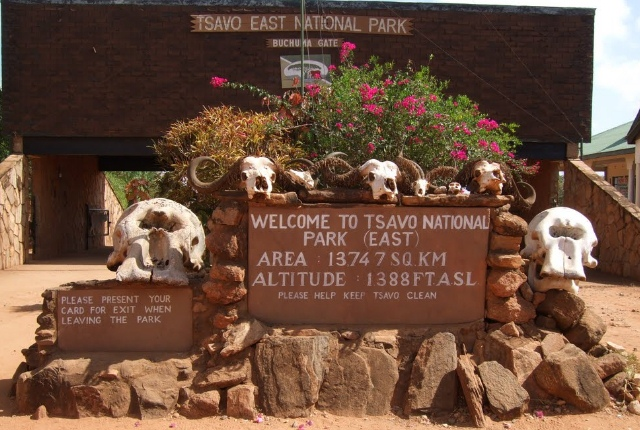 Tsavo West And East National Parks
