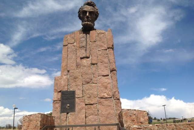 Behold The Giant Head Of Abraham Lincoln, Laramie