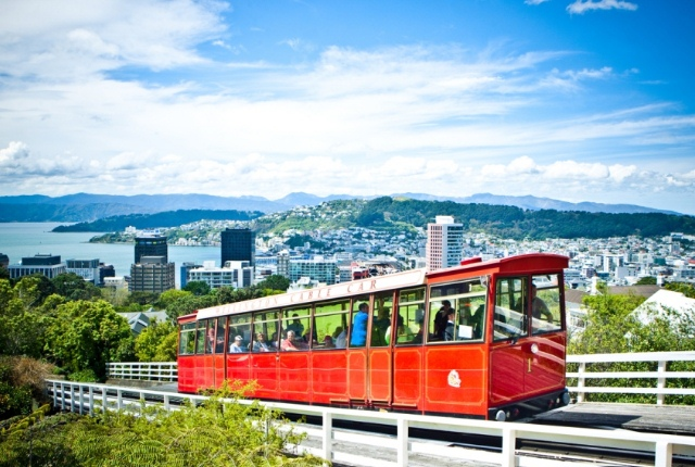 Enjoy The Joy Ride In Wellington Cable Car