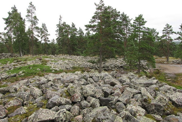 The Ancient Site Of Sammallahdenmaki, Finland