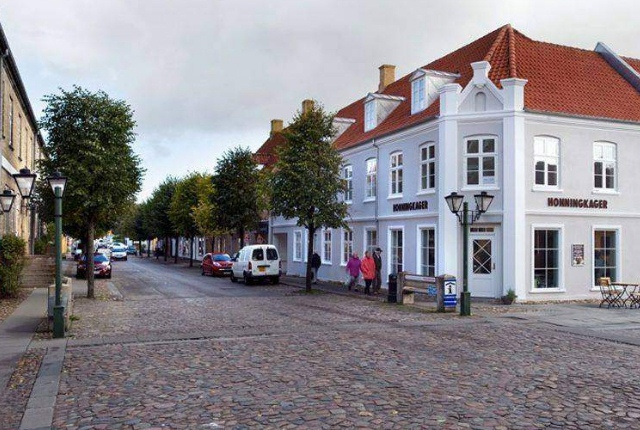 The Town Of Christiansfeld, Denmark