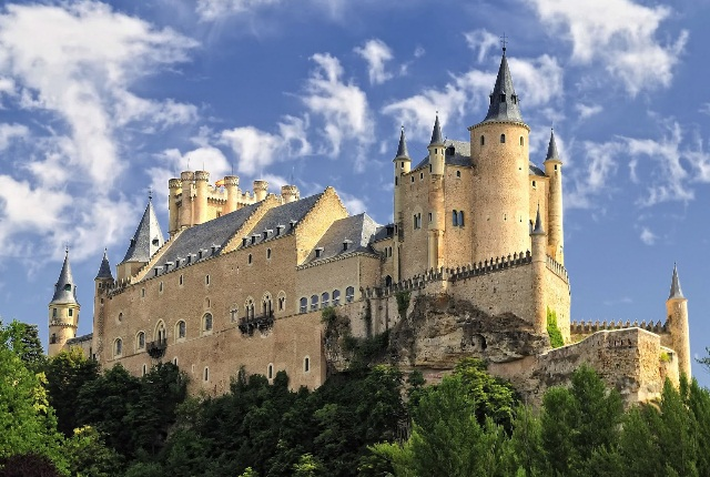 Castle Alcazar Of Segovia