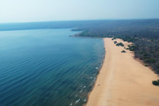 Lake Tanganyika of Africa