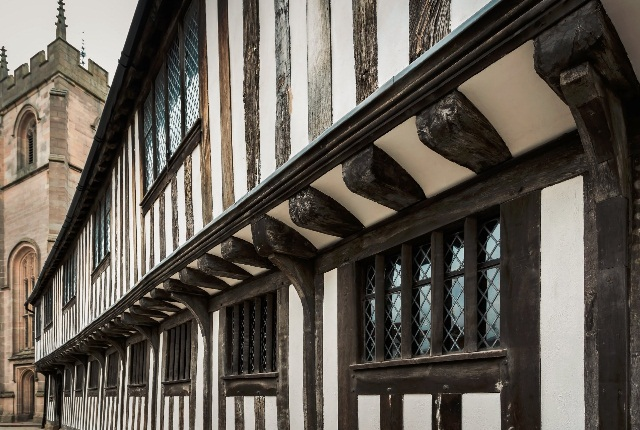 Shakespeare's Schoolroom And Guild Hall, Warwickshire