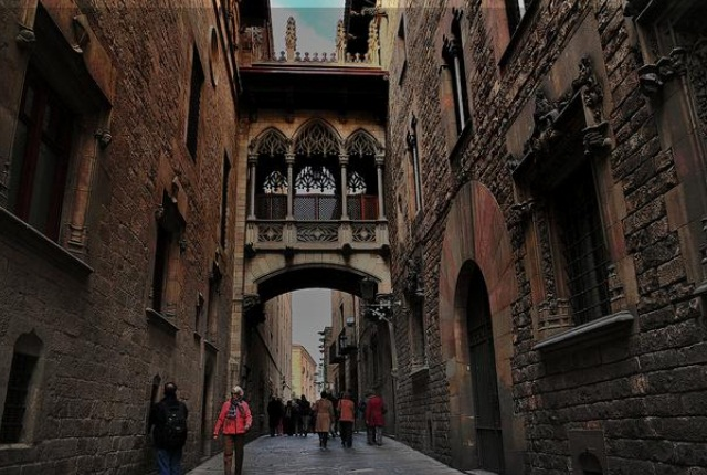 Stroll The Lanes Of Gothic Quarter