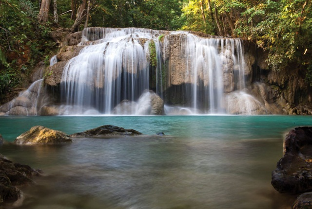 The Cascading Namuang Waterfalls