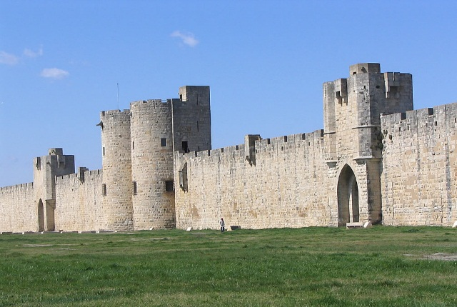 Fort Town Of Aigues Mortes