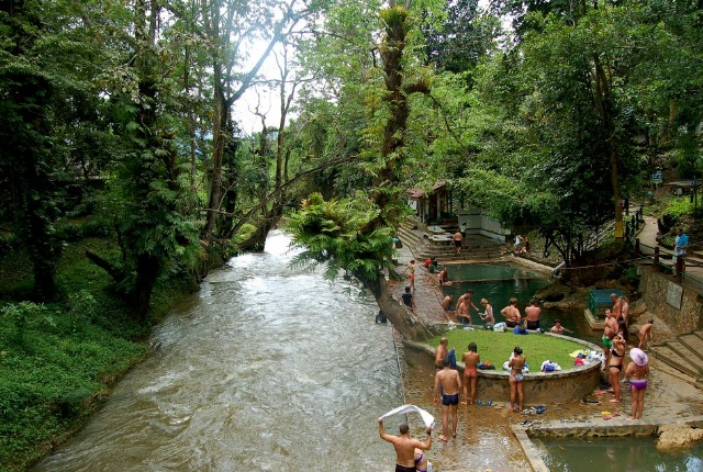 Have A Dip In Hindad Hot Springs