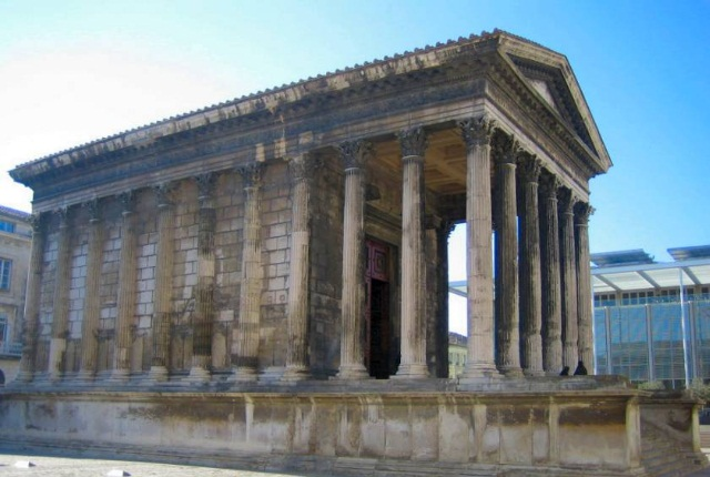 The Ancient City Of Nimes