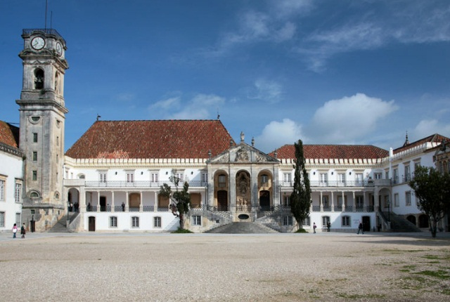 Visit The University Of Coimbra